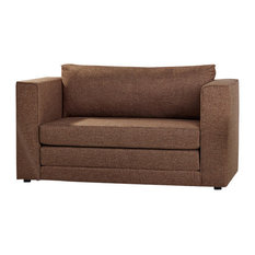 Gold Sparrow   Corona Convertible Loveseat Sleeper, Ceramic   Sleeper Sofas
