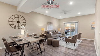 Element One Vacant Stagings