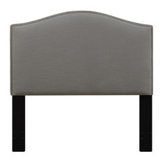 r2h accentrics home camel back upholstered headboard king ash headboards