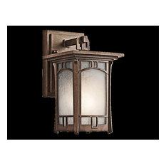 Kichler Soria 1-Light Aged Bronze Wall Lantern