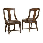 Hekman Havana Side Chair, Antique-Style, Set of 2