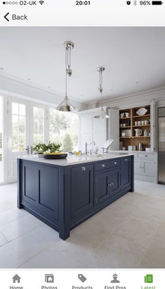 Different Flooring In Open Plan Kitchen Dining Family Room Houzz Uk