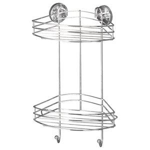 Duo Vacuum-Loc Corner Shower Caddy