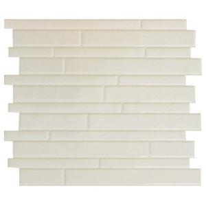 e8b751d616d Smart Tile Milano Avorio Peel and Stick 3D Gel-O Wall Tiles Mosaik