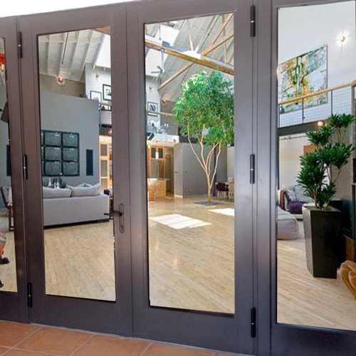 Terrace Doors Twin with Side lites - Windows And Doors & Terrace Doors Available Up To 10 Feet Tall Pezcame.Com