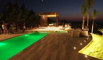 Sistemazione Esterna con piscina
