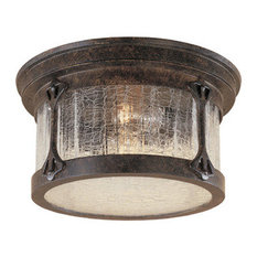 High Quality Designers Fountain   Outdoor Flush Mount, Chestnut   Outdoor Flush Mount  Ceiling Lighting