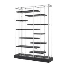 Levitating Shelf Cabinet | Eichholtz Ward Black 40-inchW X 16-inchD X 91-inchH