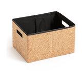 Коробка складная из пробки, размер S, MASAO La Redoute Interieurs