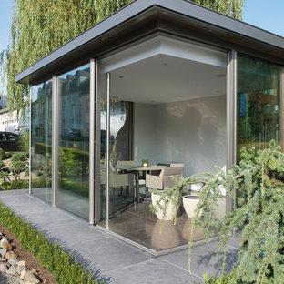 Très grand abri de jardin moderne : Photos et idées déco d\'abris de ...
