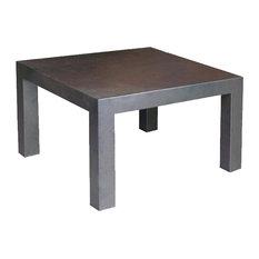 - Mesa comedor hierro con sobre plancha NEO 8X8 - Mesas de centro