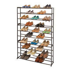 Shoe, Bronze 50 Pair Standing Ten Levels