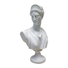 Diana of Versailles Bonded Marble Resin Sculptural Bust