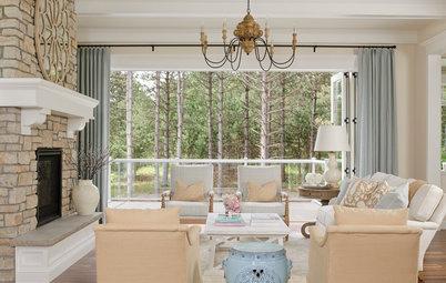 Houzz Tour: Fresh and Calming Design for a New Family Home