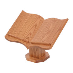 Amish Made Oak Table Top Bible Stand