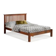 Barcelona Full Bed, Chestnut