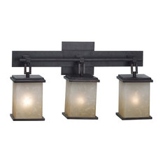 Plateau 3 Light Vanity, Oil Rubbed Bronze Finish