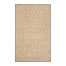 Studio Seven Natural Fiber Rug, Natural/Gray, 2'x3'