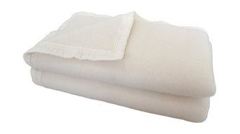 Aubisque 100% Wool Blanket, 500Gsm 33 Microns, Natural, Queen