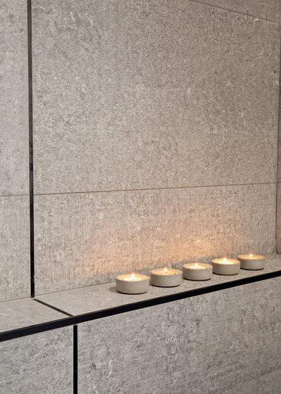 Modern Bathroom by Lauren Levant Interior