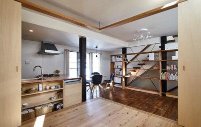 木のぬくもりにこだわった、開放感のある賃貸併用住宅