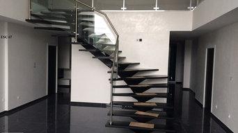 Réalisation d'escaliers