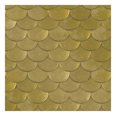Brass Belly Removable Wallpaper, Old World Brass Metallic, 56.37 Sq. Ft.