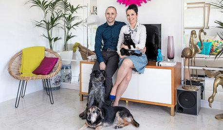En casa de… Marc y Cèlia: Blogueros de 'Antic & Chic'