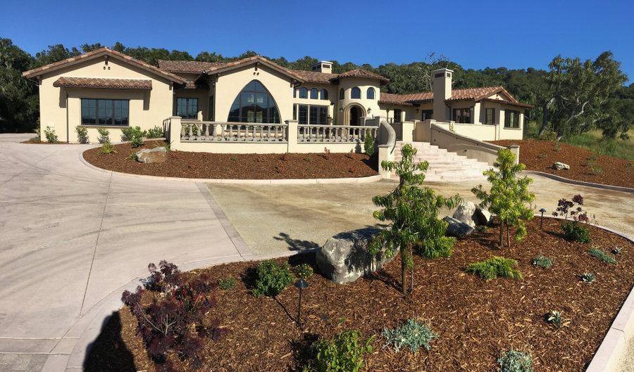 Anza Vineyard Estates - San Luis Obispo CA - Greg Nester Custom Home on 20 Acres