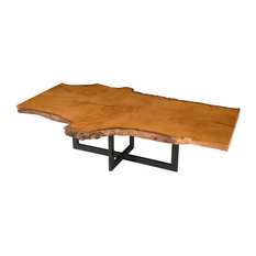 burl wood coffee tables | houzz