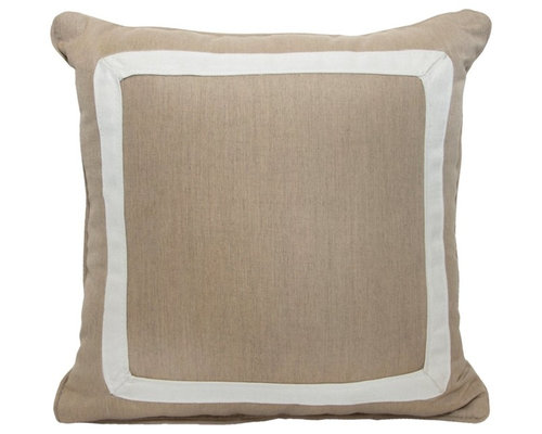 """Canvas Boarder 18""""x18"""" - Canvas Heather Beige - Products"""