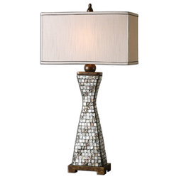 Unique Traditional Table Lamps Consilina Shell Table Lamp