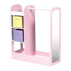 guidecraft see and store dress up center pastel toy organizers funky nursery furniture