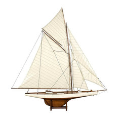 Authentic Models America's Cup Columbia 1901, Medium French Finish