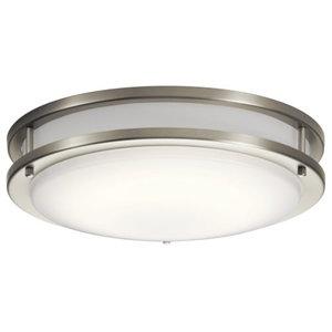 Kichler Avon Flush Mount LED 10769NILED - Brushed Nickel