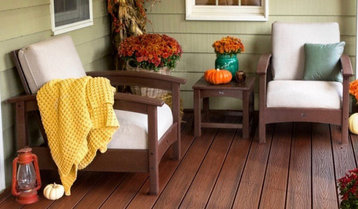 A Cozy Fall Patio