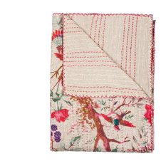 """50"""" x 70"""" Multi-colored Eclectic Bohemian Traditional Throw Blankets"""