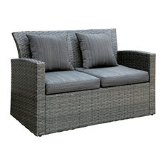 Darcy Contemporary Style Outdoor Patio Love Seat