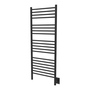 Amba Jeeves CCB-20 Brushed C Curved Electric Heated Towel Warmer 20-1//2 W x 36 H