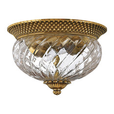 Hinkley Plantation Bath Small Flush Mount, Burnished Brass