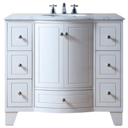 Transitional Bathroom Vanities And Sink Consoles by HedgeApple