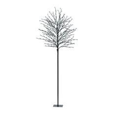 Eglo Lighting 75041A LED Tree LED Floor Lamp, Brown