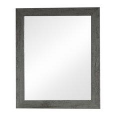 Grey Washed Wall Mirror 49cm x 59cm