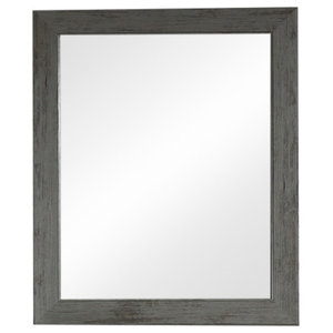 Grey Washed Wall Mirror 49cm x 59cm
