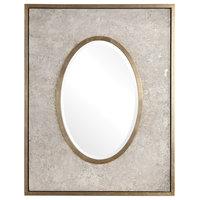 Gabbriel Aged Oval Mirror