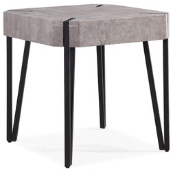 Industrial Side Tables And End Tables by Handy Living
