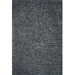 """Loloi - Loloi Rug, Charcoal, 5'x7'6"""" - From the very first step, your feet will relax into the plushness of Olin Shag. Hand tufted in India, Olin Shag bundles thick twisted yarns together, giving this shag an impressive and durable texture. What's more, these polyester yarns receive varied gradations in color achieved through a space-dyeing technique. This gives Olin Shag the right selection of colors that are so lush, they rival high end wool rugs.?"""