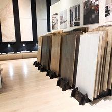 Combinación de mármol y madera en hoteles de lujo