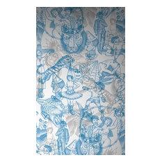 Busy Tattoo Flash Wallpaper, Blue