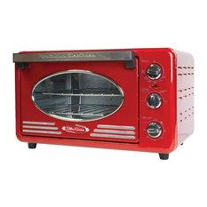 Nostalgia Retro Series 6-Slice Convection Toaster Oven